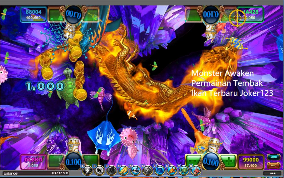 Monster Awaken Permainan Tembak Ikan Terbaru Joker123